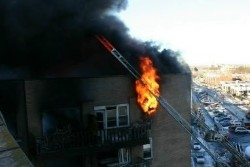 sheepsherd Bay fire